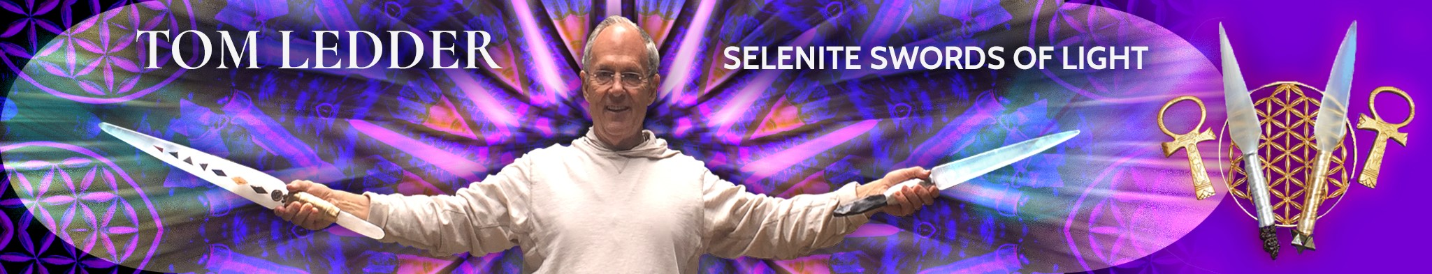 Welcome to Header Selenite Swords of Light